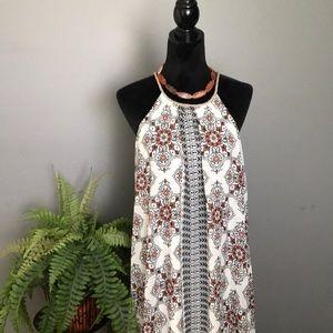 Altar'd State boho print maxi dress